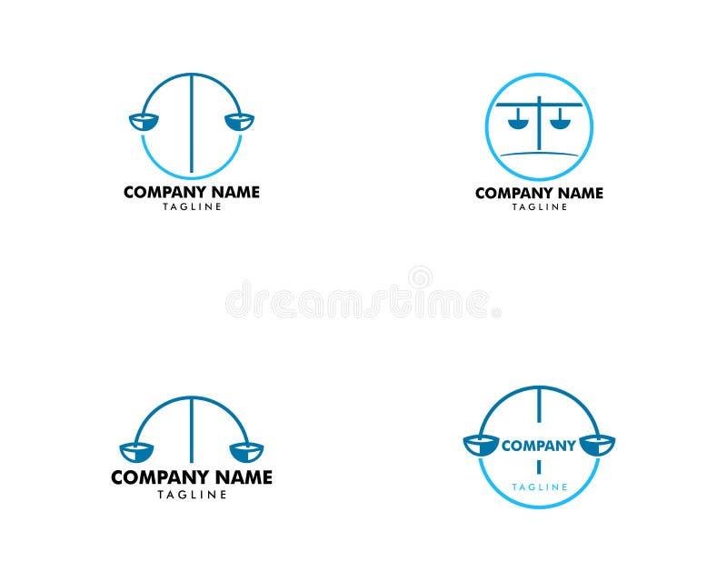 Set of Law Firm Logo Template Design Vector. Law Firm Logo Template Design Vector, Law Firm Logo vector illustration
