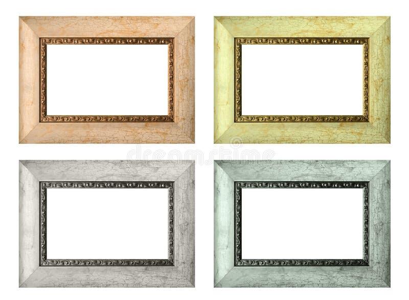 set leere bilderrahmen der farbe getrennt stockbild bild von rand nachricht 27103955. Black Bedroom Furniture Sets. Home Design Ideas