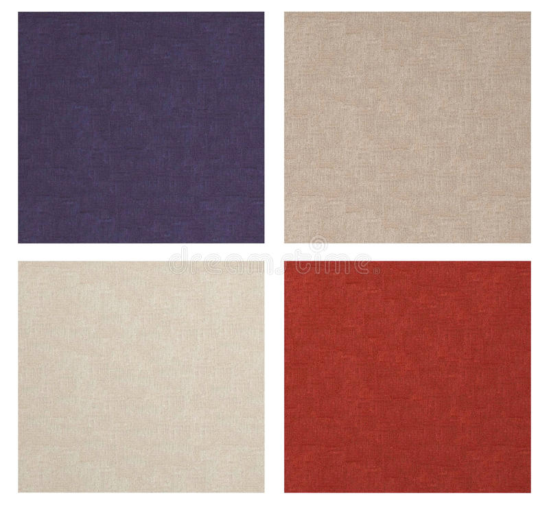 Download Set of linen texture. stock illustration. Image of nature - 25738384
