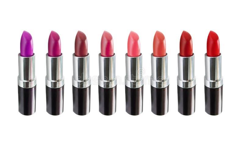 Set of lipstick stock photography