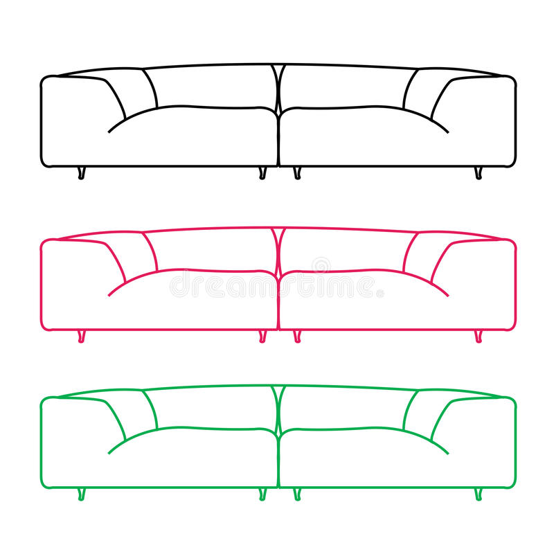 Front Elevation Of Sofa : Front elevation of sofa taraba home review