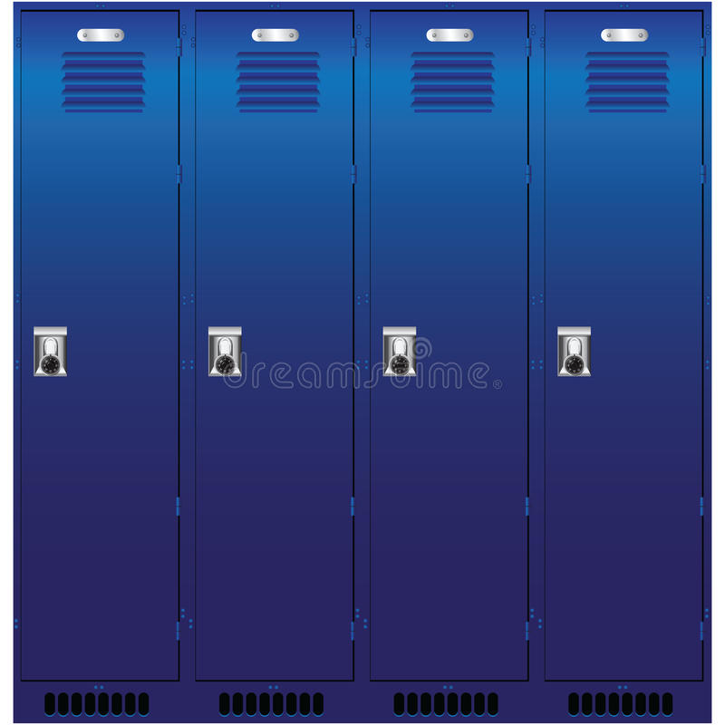 Download Set Of The Lockers Stock Photos - Image: 29085643