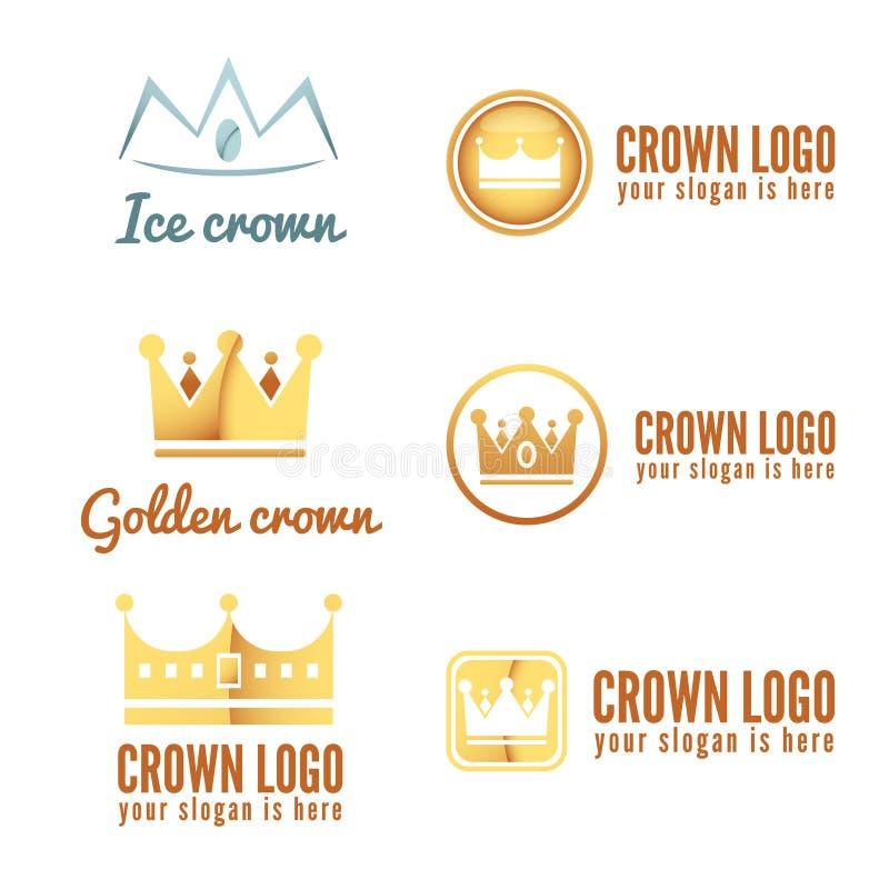Set of logo, labels, badges, emblems or logotype stock illustration