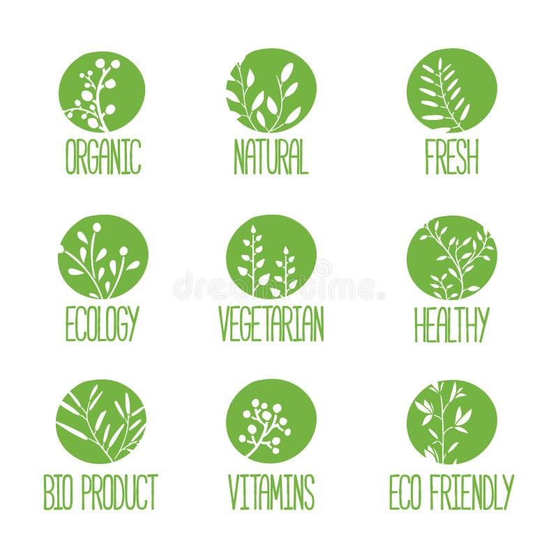 Download Set Logowie, Ikony, Etykietki, Majchery Lub Znaczki, Ilustracja Wektor - Ilustracja złożonej z kwiat, element: 57661130