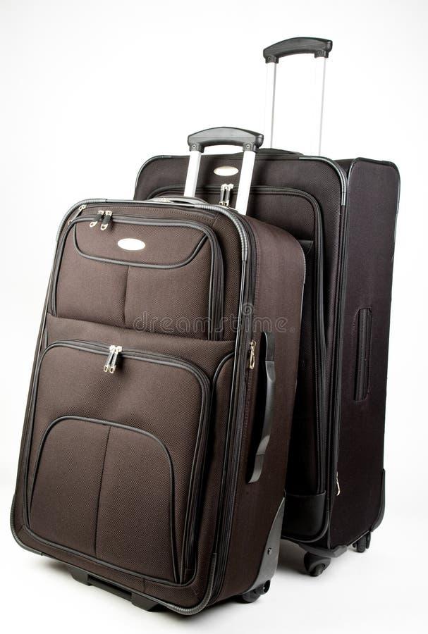Set of Luggage stock photo
