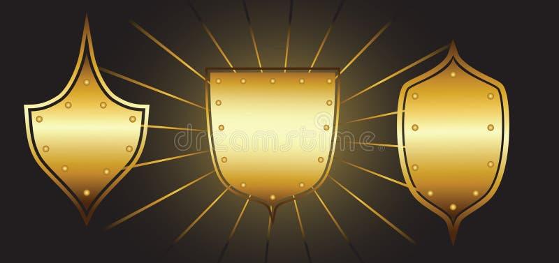 Download Set Of Luxury Shields Royalty Free Stock Photo - Image: 16865395