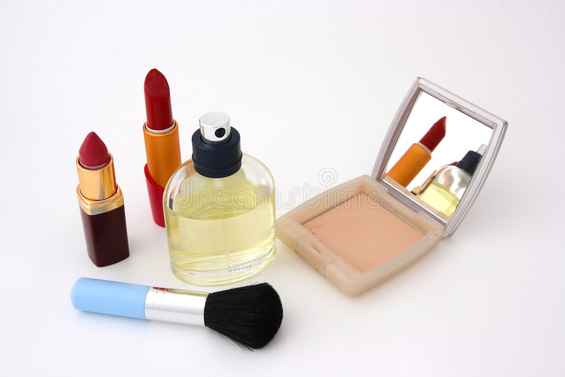 Set for make-up stock image