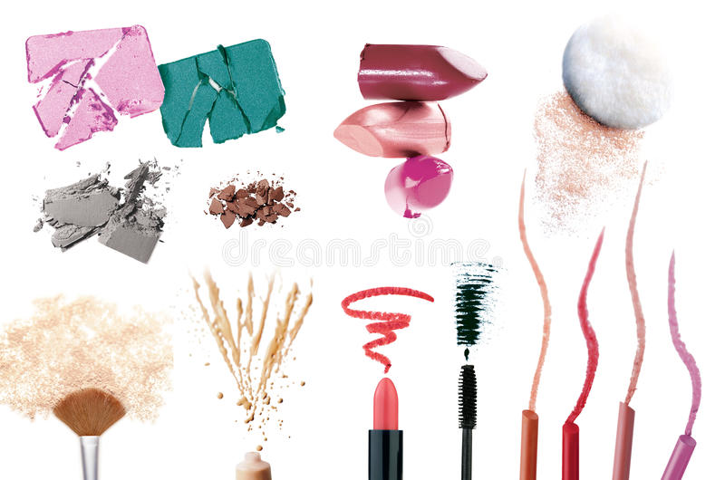 Download Set of make up products stock photo. Image of accessory - 19755494