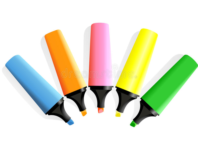 Set of markers