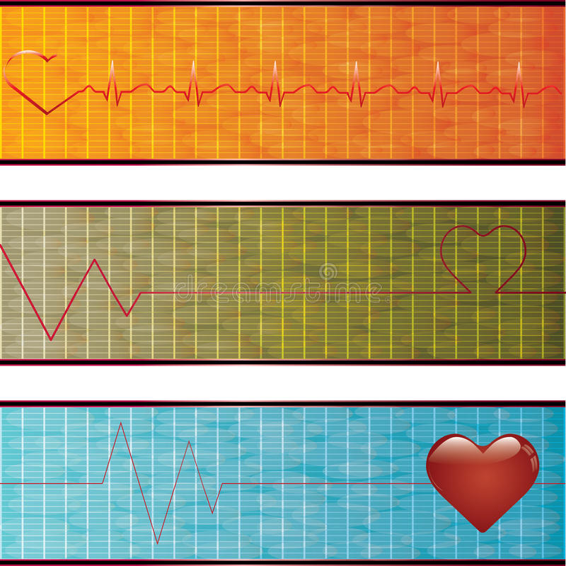 Download Set of medical banners. stock vector. Image of science - 29936487