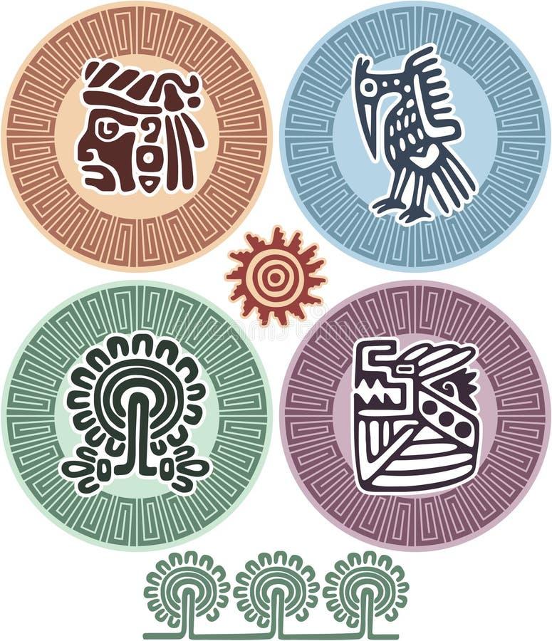 Set of Mexican Design Elements vector illustration
