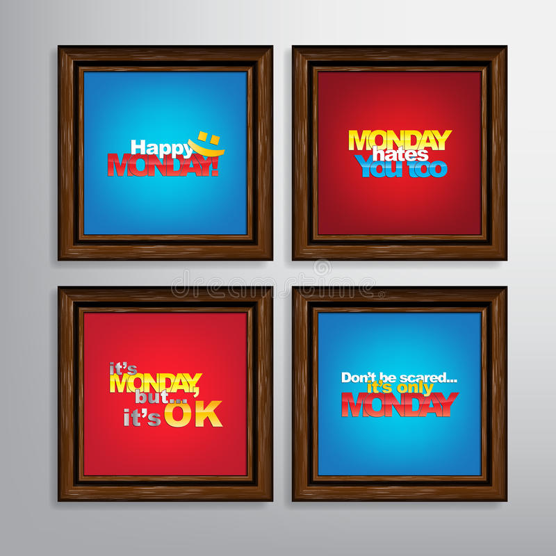 Set Of Motivational Quotes. vector illustration