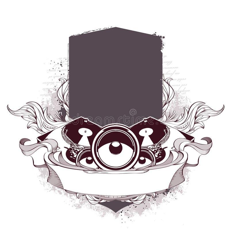 Download Set Of Musical Grunge Elements Stock Vector - Image: 14378538