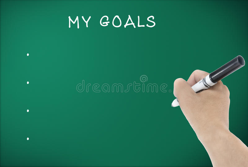 Download Set my goals stock photo. Image of assistance, smart - 39511036