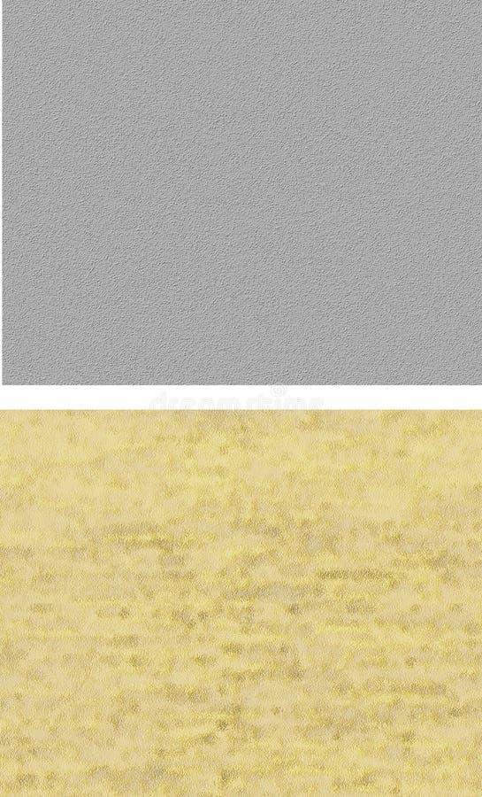 Set nahtlose Pflasterbeschaffenheiten. stockbild