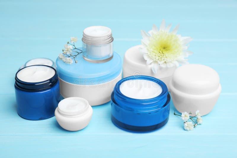 Set of natural cosmetics stock photo