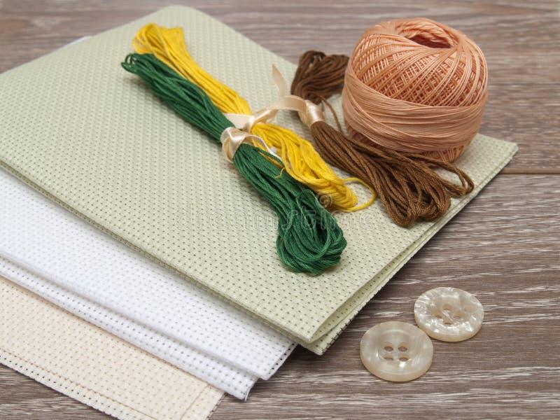 Download Set of needlework stock photo. Image of wooden, scissors - 25379420