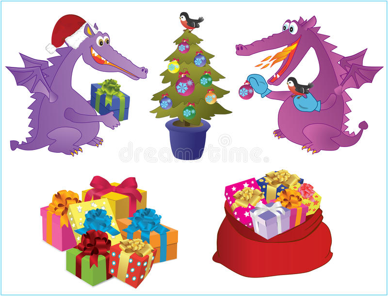 Download Set Of New-year Images. Stock Photography - Image: 22149702