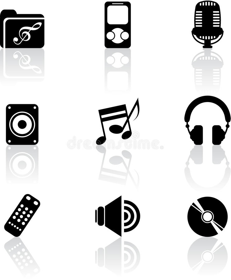 Download Music Icons Stock Photos - Image: 29881623