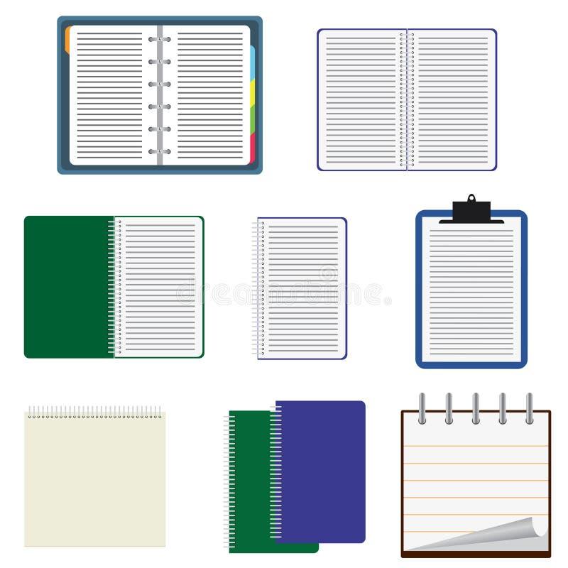 Set of notebooks.