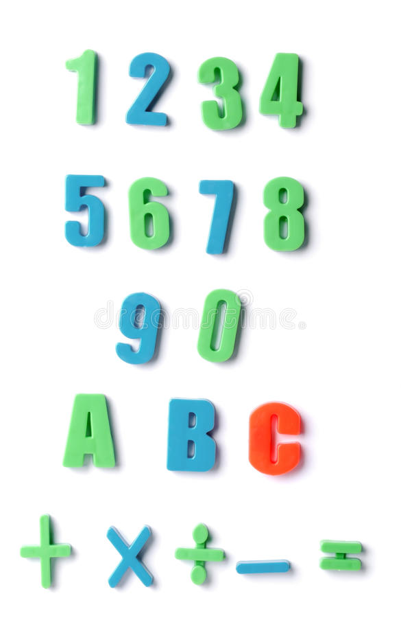 Download Set numeral stock image. Image of instruct, calculating - 9704481