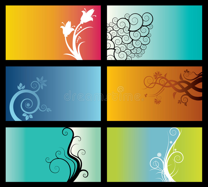 Free Set Of Abstract Backgrounds Stock Photo - 5326310