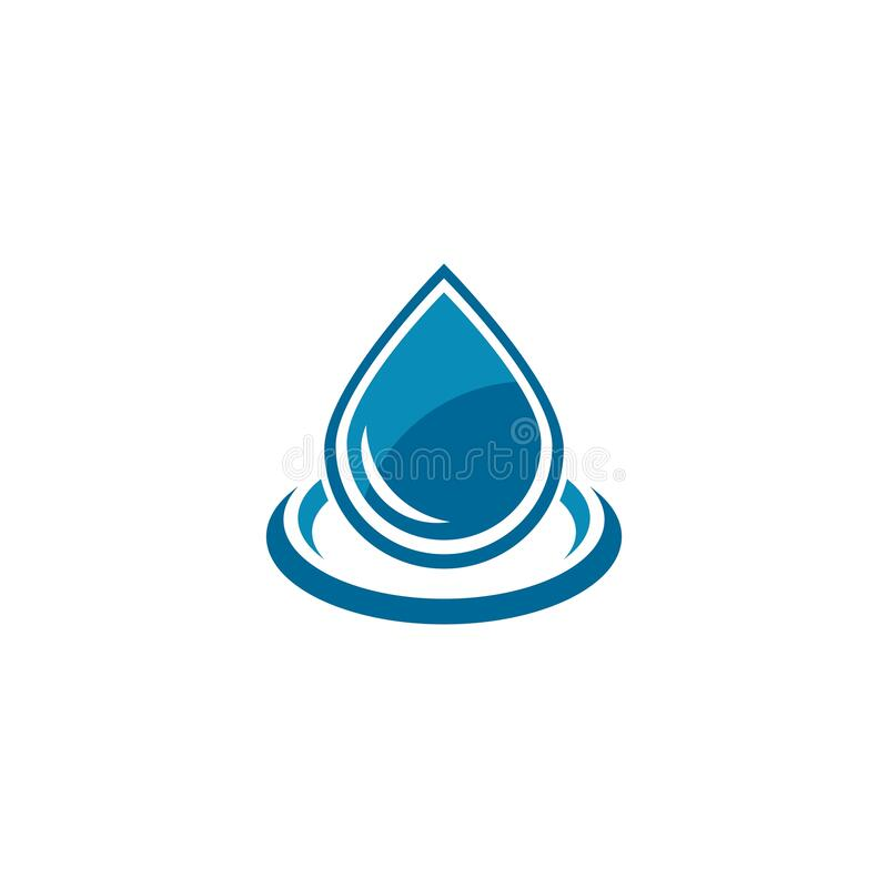 Free Set Of Abstract Water Drops Symbols Royalty Free Stock Images - 172556429