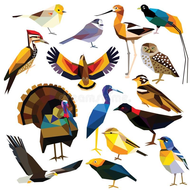Free Set Of Birds Royalty Free Stock Photo - 64630225