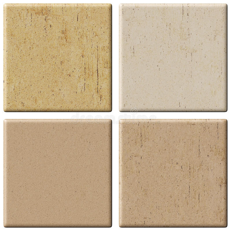 Free Set Of Ceramic Tiles. Royalty Free Stock Photography - 15986407