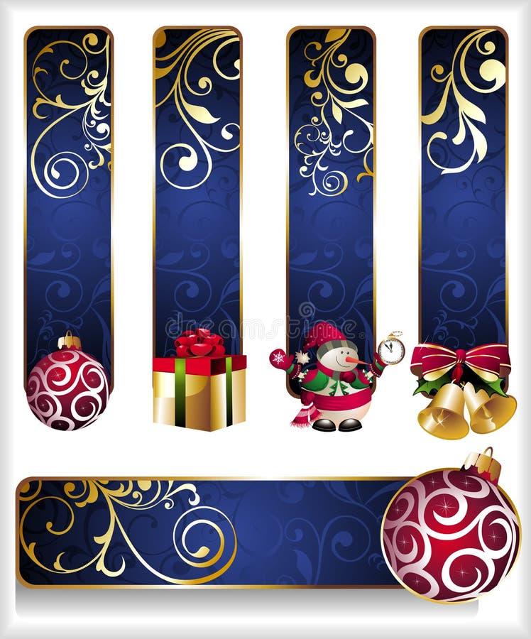 Free Set Of Christmas Banners Stock Photo - 17428110