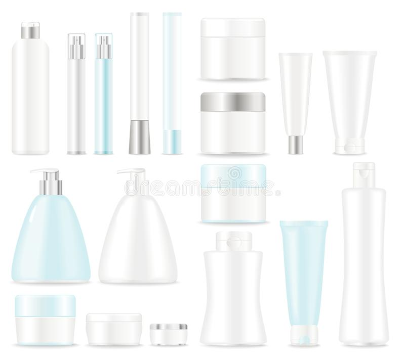 Free Set Of Cosmetic Packages Stock Photo - 28971200