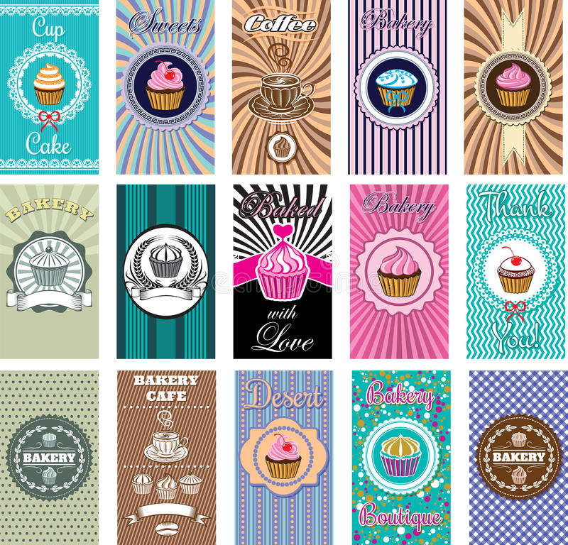 Free Set Of Design Elemnt Icons For Baking And Bakery Royalty Free Stock Image - 36138686