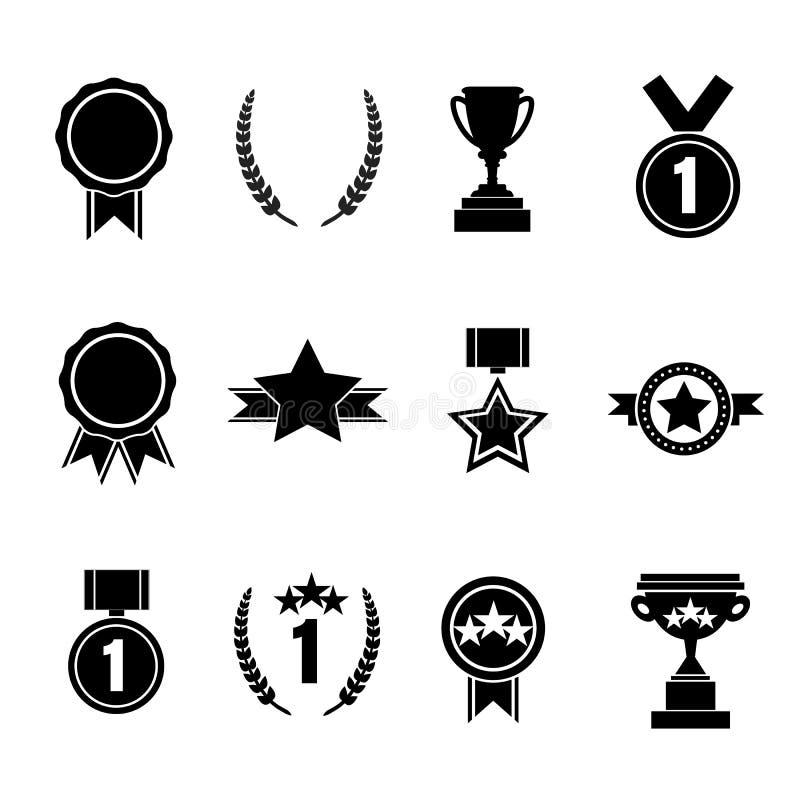 Free Set Of Flat Vector Award. Vector Illustration Royalty Free Stock Image - 48548896