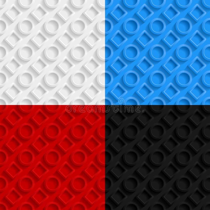 Free Set Of Geometric Seamless Patterns Stock Images - 49363694
