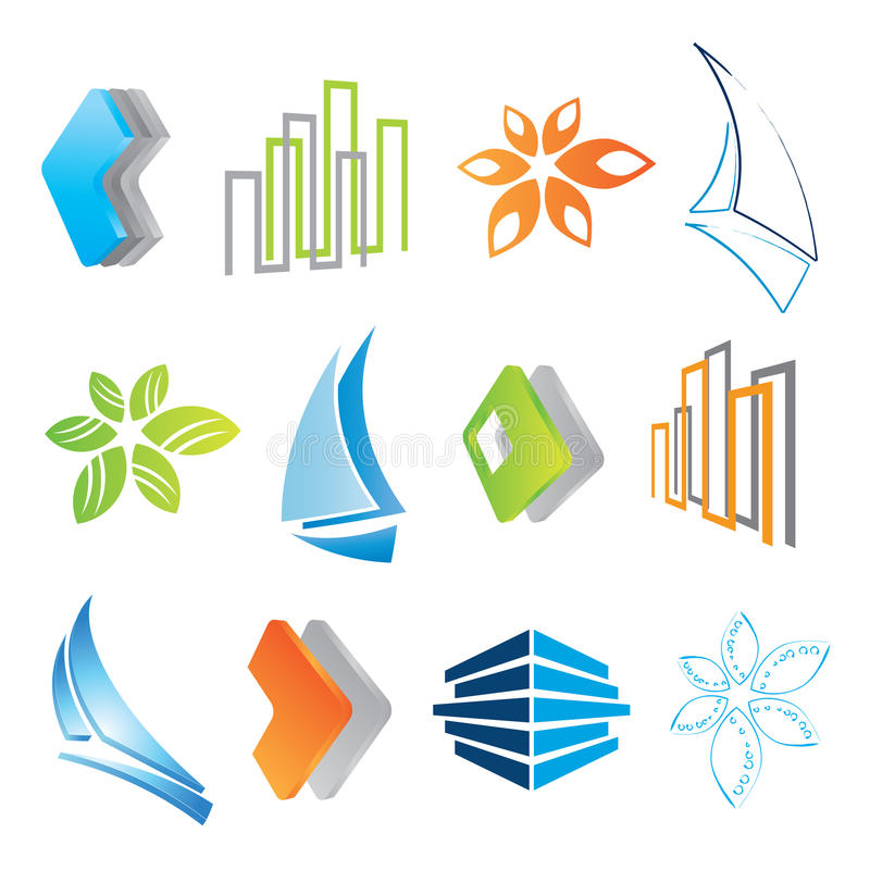 Free Set Of Icons Royalty Free Stock Photography - 10385427