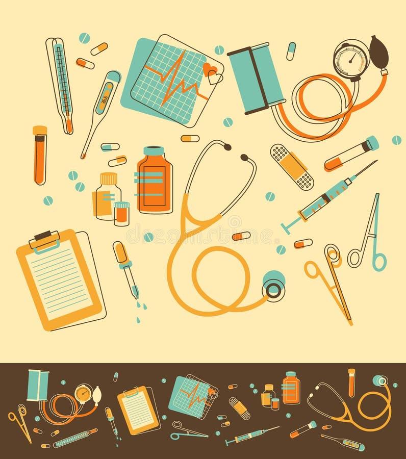 Free Set Of Medical Instruments Stock Photo - 31719580