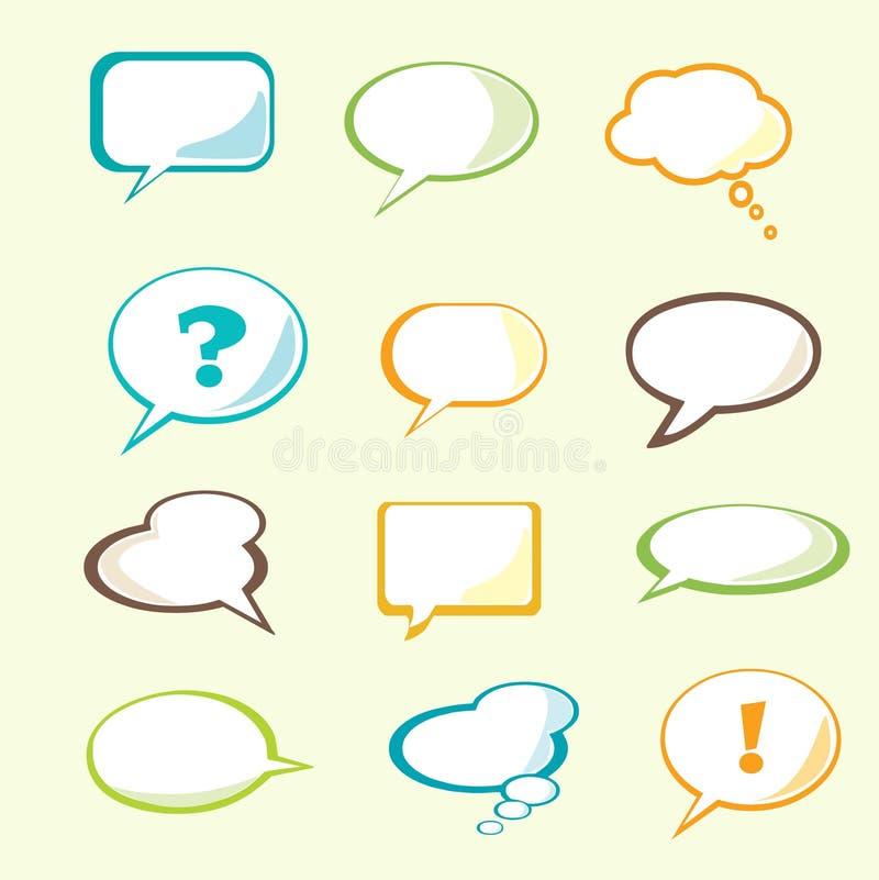 Free Set Of Speech Bubble Stock Image - 11314131