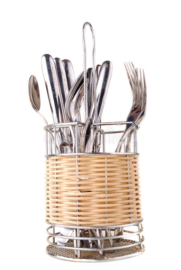 Free Set Of Spoons, Plugs Royalty Free Stock Image - 12294936