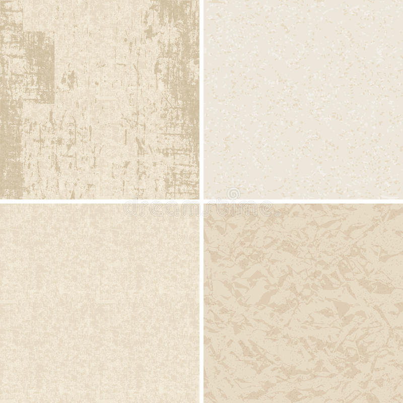 Free Set Of Textured Paper Stock Photography - 45300472