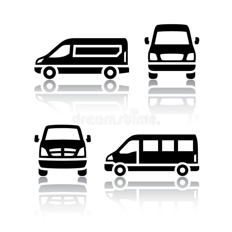 Free Set Of Transport Icons - Cargo Van Stock Photo - 78571430