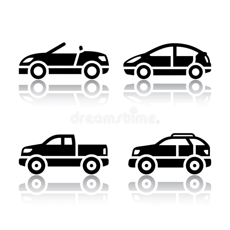 Free Set Of Transport Icons - Cars Stock Image - 78570661