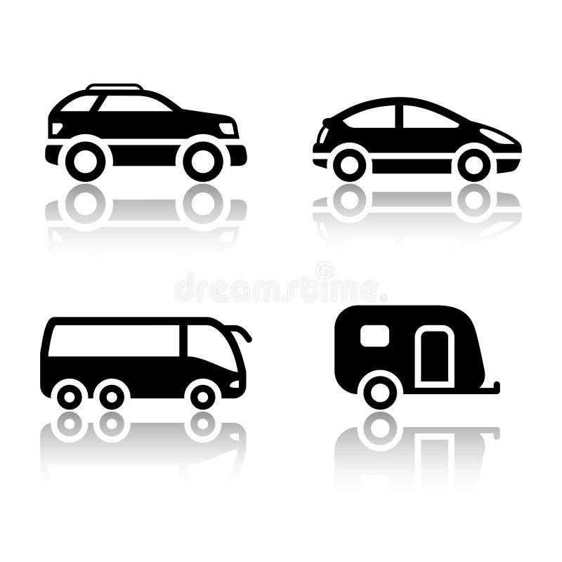 Free Set Of Transport Icons - Vehicles Royalty Free Stock Photos - 78471308