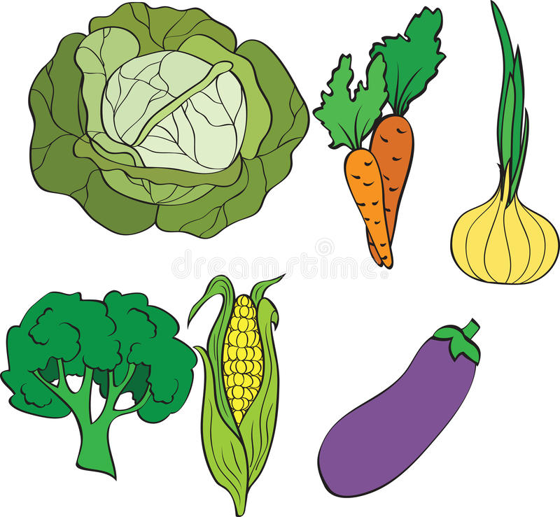 Free Set Of Vegetables Stock Photography - 16709792