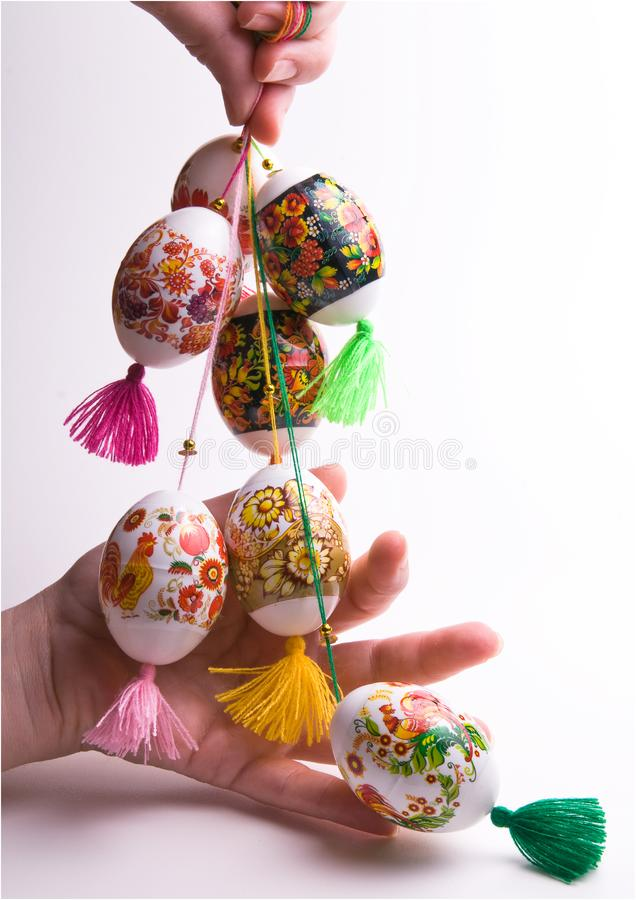 Download Set Ofcolorful Easter Eggs. Stock Image - Image of natural, image: 8684115