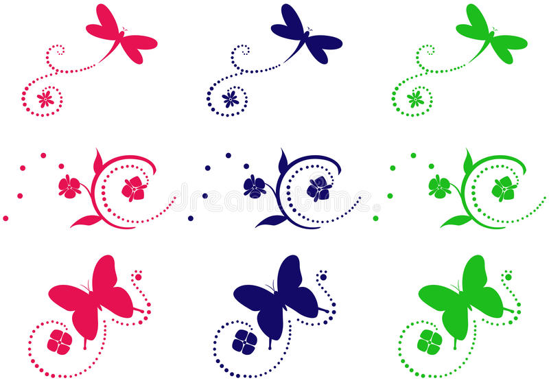 Download Set ornaments stock vector. Image of selection, design - 11389766