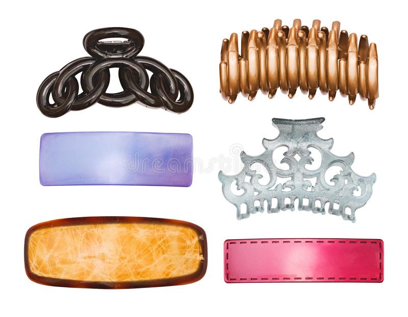 Download Set of ornaments for hair stock photo. Image of blue - 18947358