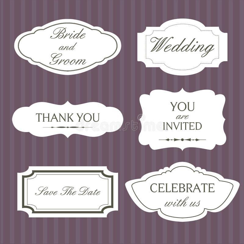 Download Set of ornate  frames stock vector. Image of invitation - 16853079
