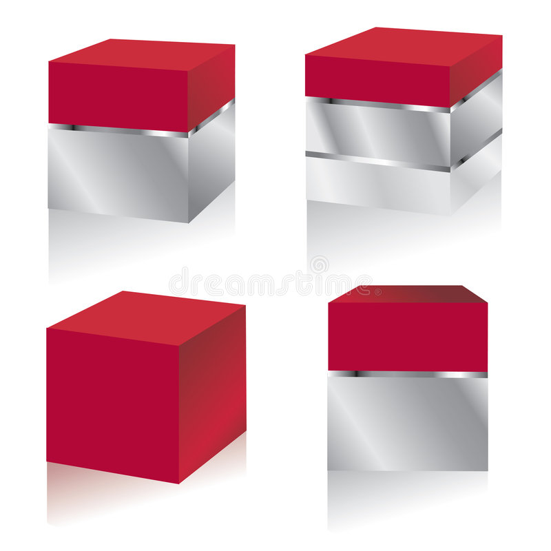 Set Pakete Lizenzfreie Stockbilder