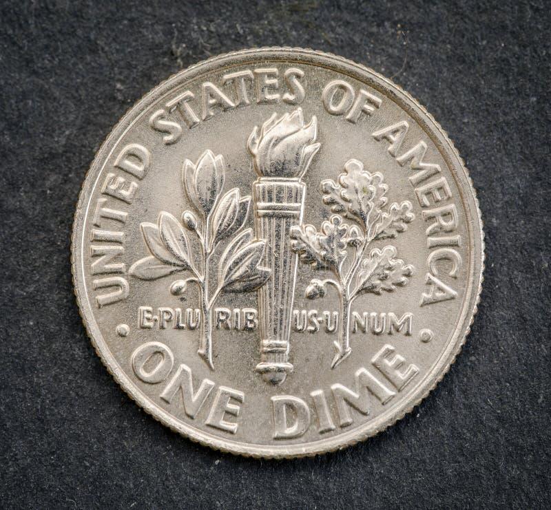 Set pamiątkowy usa moneta nominalna wartość 1 grosz fotografia royalty free