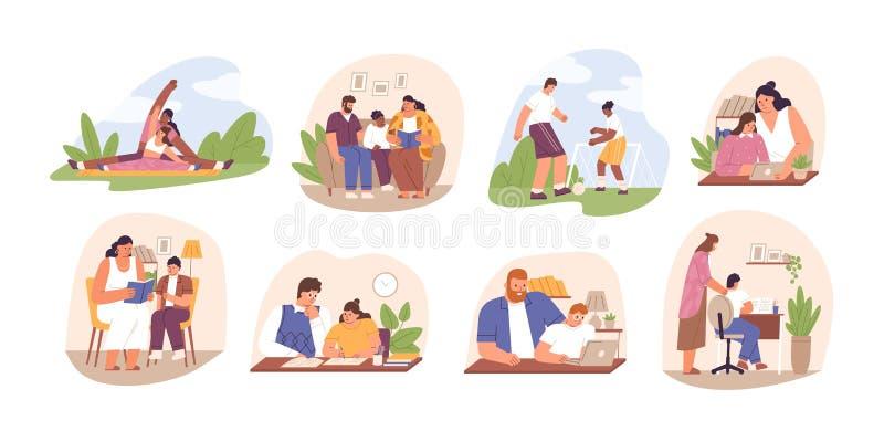Family Read Stock Illustrations – 2,933 Family Read Stock Illustrations,  Vectors & Clipart - Dreamstime